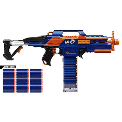 Nerf Dart 30 blasterparts nerf n strike elite combo rapidstrike cs 18 30 elite clip system darts foam