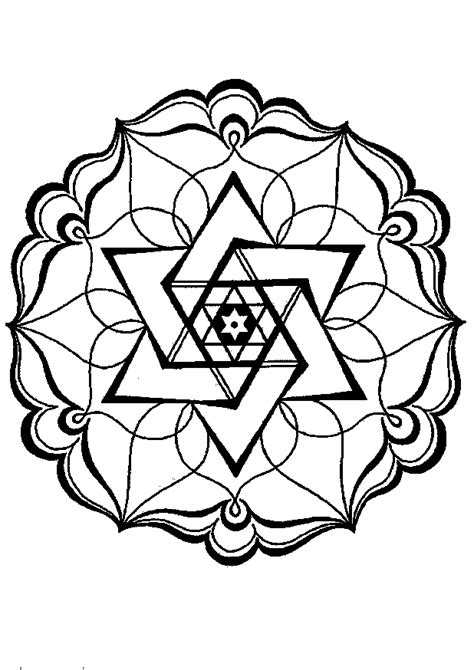 coloring pages of geometric patterns free coloring pages of geometric patterns