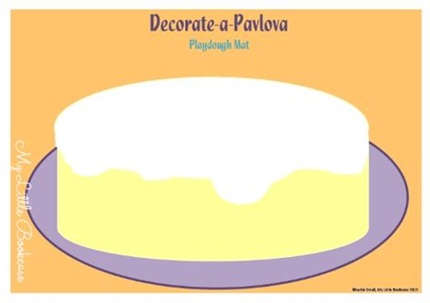 playdough templates a possum magic pavlova recipe and playdough mat my