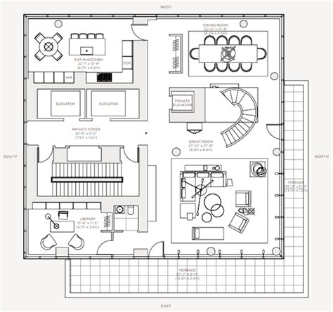 one madison floor plans let s analyze the triple threat penthouse at one madison