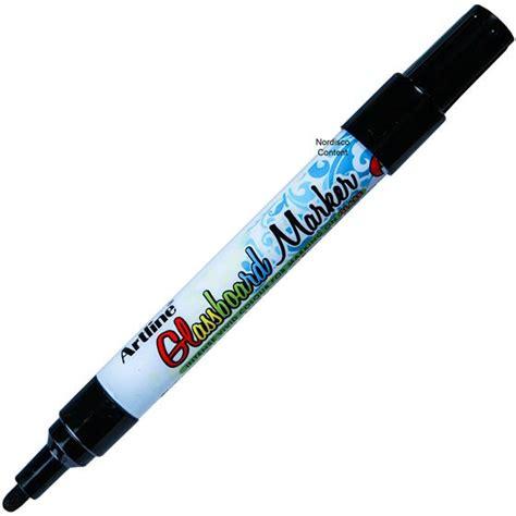 Artline Shirt Marker Bullet Tip 2 0 Mm artline glassboard marker epg 4 47521 black liquid ink 2