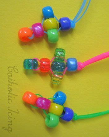 bead cross necklace craft 15 easter crafts easter crafts beaded cross and