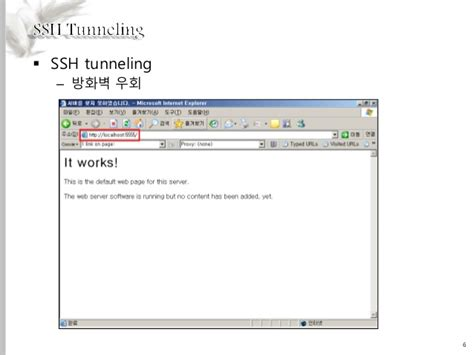 ssh tunneling ssh tunneling 1