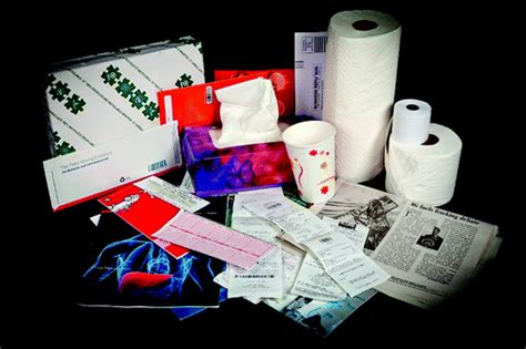 Paper Chemicals - recycling thermal register receipts contaminates