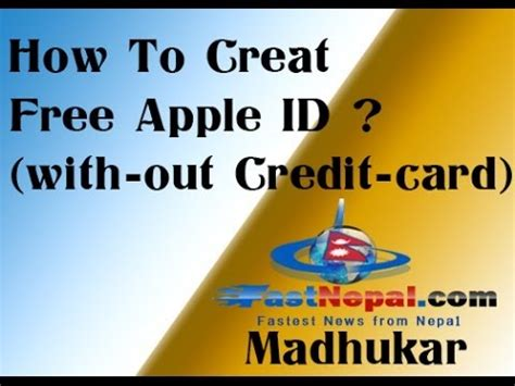make free apple id without credit card how to make free apple id without credit card