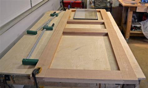 exterior door build page  woodworking talk