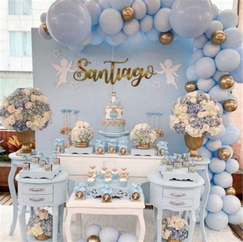 Cupcakes De Bautismo En Pinterets Decoraci 243 N De Cupcakes Para Bautizo by Pastel Matte Blue Diy Balloon Garland Kit 2 5m Baby Showers 1st Birthdays Christenings One