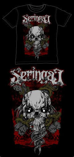 Tshirt Seringai 4 seringai t shirt by gthc85 on deviantart