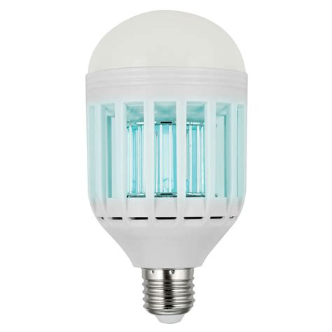 Mosquito Zapping Led Light Bulb Kills Flying Pests The Led Light
