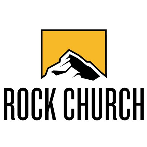 Charming The Rock Church Point Loma Service Times #3: Rock-logo-vertical.png