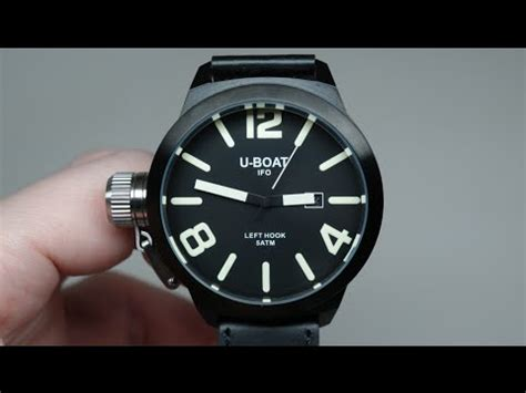 u boat ifo u boat ifo left hook limited edition men s watch review