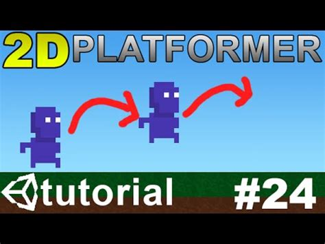 unity tutorial doodle jump 24 making a 2d platformer in unity c double jump