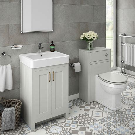 Bathroom Vanity Packages Chatsworth Traditional Grey Sink Vanity Unit Toilet Package Plumbing Uk