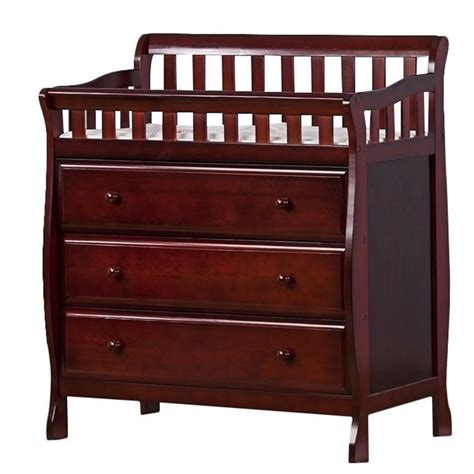 Cherry Changing Table Dresser On Me Changing Table And Dresser Cherry Baby Tables In