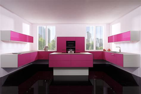Neon Bedroom Ideas pink kitchen decorating ideas in elegant style home