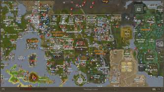Rs World Map by Wallpapers World Map White Runescape Wiki 1366x768
