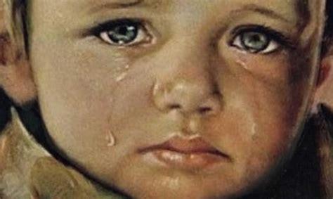 imagenes que lloran en el mundo ni 241 os que lloran los cuadros malditos