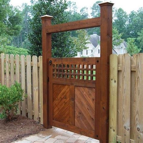 double door gate wood fence design inspiration interior