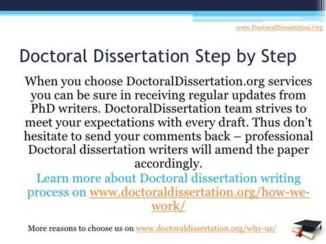 phd dissertation writing services your personal doctoral dissertation writing service
