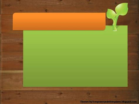 powerpoint themes plants free powerpoint templates plant powerpoint background