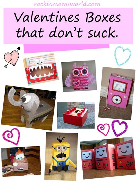 diy valentines box diy valentines boxes that don t today s craft and