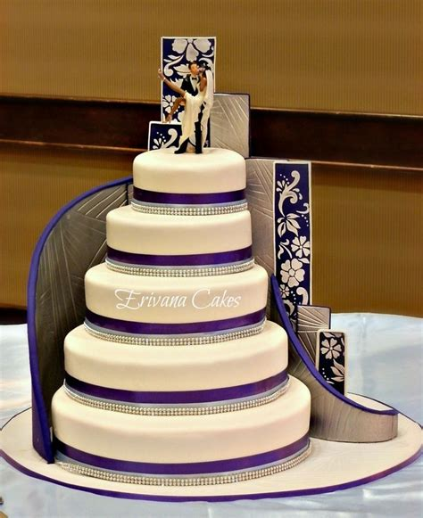 Wedding Cake With Stairs by Stairs Wedding Cake Buttercream