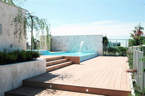Home Journal Interior Design piscina da terrazzo pool from terrace