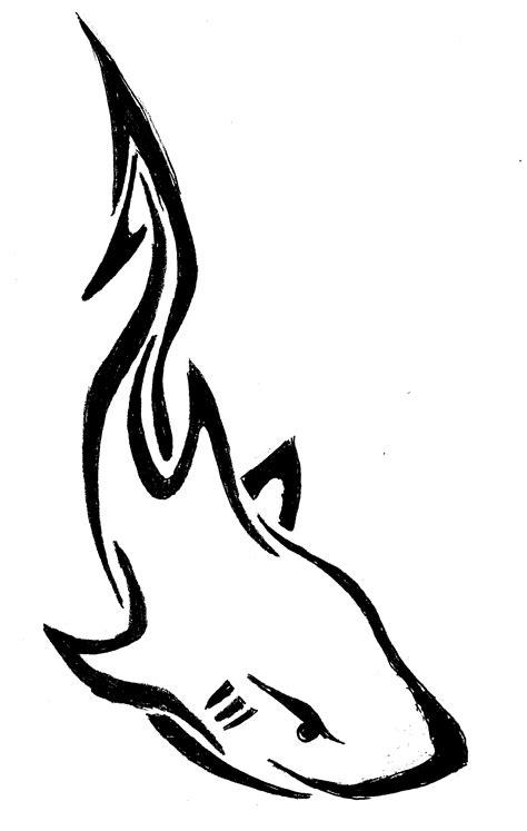 tribal shark drawing stjohn117 169 2018 oct 23 2012