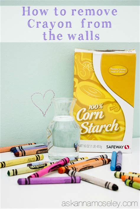 how to remove crayon from couch green cleaning with corn starch baking powder cream of