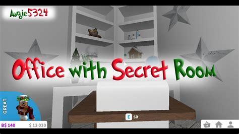 bloxburg christmas build  office  secret