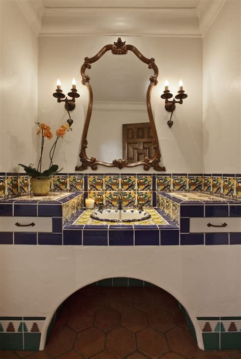 decorate your pictures how to decorate your bathroom in mexican style interior