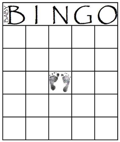 baby shower bingo cards blank 49 printable bingo card templates tip junkie