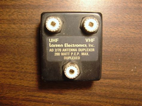 Duplexer Vhf vhf uhf duplexer industrial electronic components
