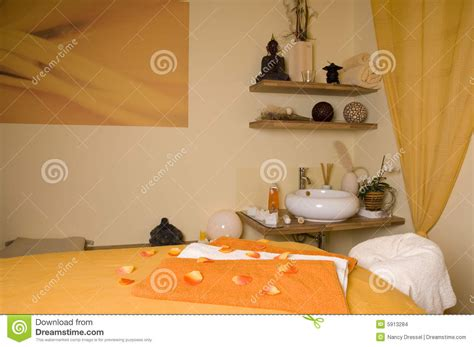 Spa Room Essentials by Inside Spa Room Stock Images Image 5913284