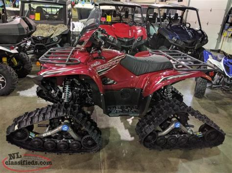 2016 yamaha grizzly rear seat the ultimate winter atv package 2016 yamaha grizzly 700 le