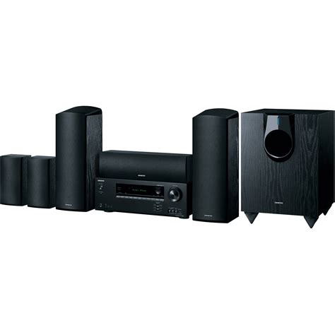 onkyo ht s5800 5 1 2 channel home theater system ht s5800 b h