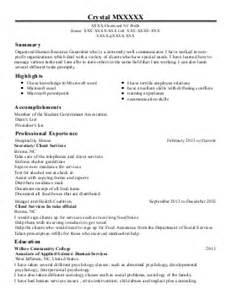 Personnel Clerk Sle Resume by Personnel Clerk Resume Exle Serco Bel Air Maryland