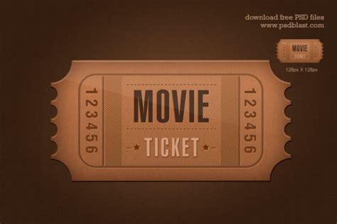 ticket icon psd psd file free download