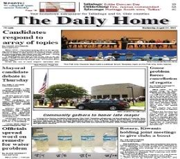 the daily home epaper today s the daily home newspaper