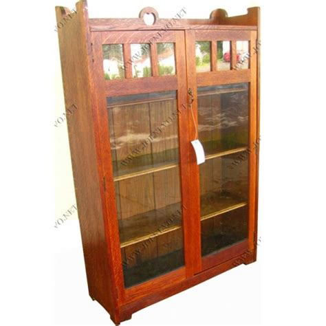 stickley bookcase for sale antique stickley bros two door bookcase joenevo