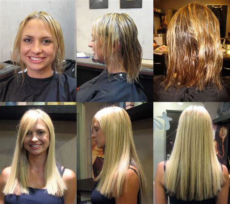 before and after great lengths great lengths hair extensions salon locator hairstyles