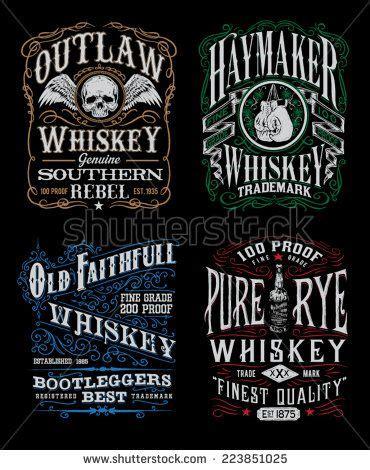 design t shirt labels 11 best images about whiskey labels on pinterest david