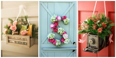 28 homemade decorations for summer diy outdoor decor and 10 diy summer wreath ideas outdoor front door wreaths