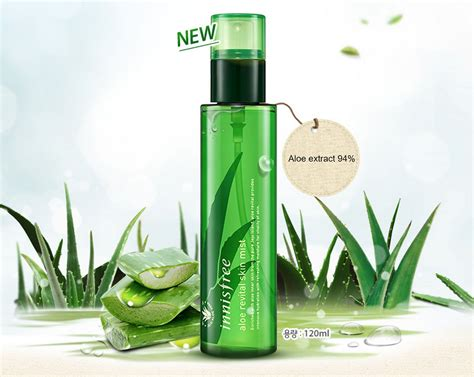 Innisfree Aloe innisfree aloe revital skin mist 120ml ebay