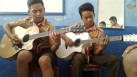 baik baik sayang acoustic cover wali band wali baik baik sayang bhisma feat tegar cover gitar