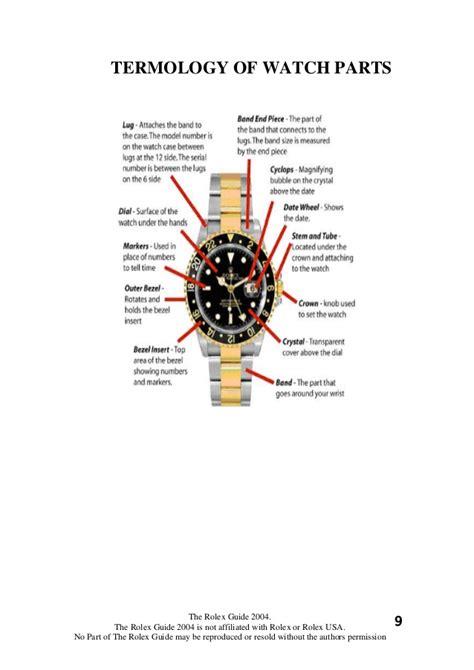 Crown Knob Rolex Submariner 01 rolex science spotting the replicas