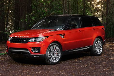 red land rover range rover sport 2015 luxury things