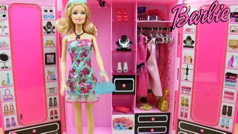 guardarropa de juguete armario style de la mu 241 eca barbie en espa 241 ol juguetes de