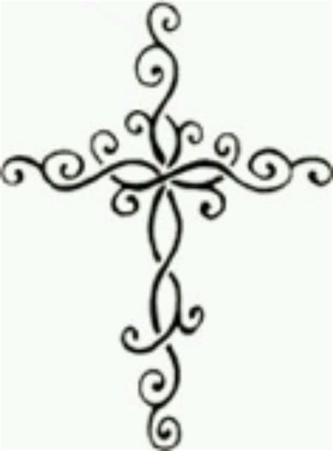 girly cross tattoo designs 25 best images about printable crosses on