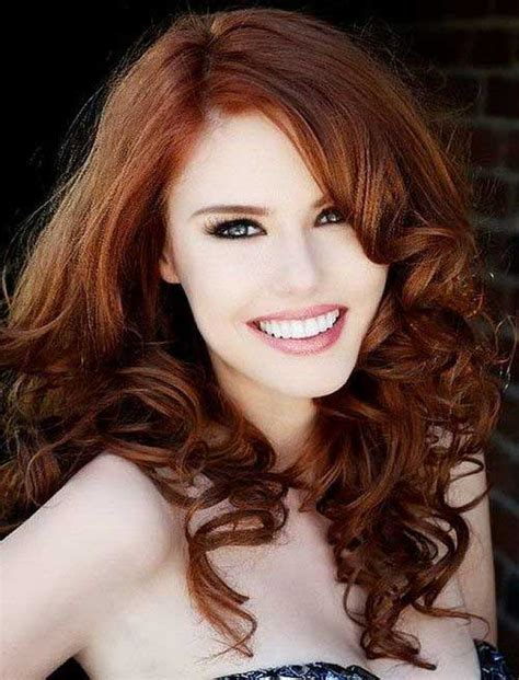 hair colour auburn pictures 30 best auburn hair styles hairstyles 2017